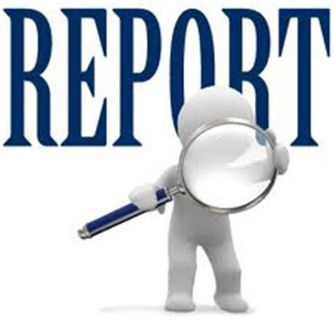 Planning activity when writing a report